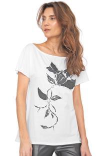 Camiseta Dimy Aplicações Branca - Kanui