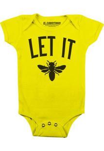 Let It Bee - Body Infantil