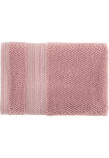 Toalha De Rosto Empire- Rosa- 48X70Cm- Karstenkarsten