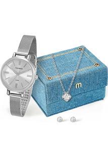 Relógio Mondaine Analógico 76616L0Mvne1K1 Feminino - Feminino
