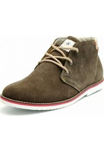 Bota Casual Shoes Grand Camurca Marron - Masculino