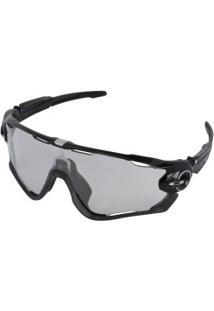 Óculos De Sol Oakley Jawbreaker Photochromic - Masculino - Preto