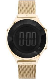 Relógio Technos Crystal Digital 4P 40Mm Aço Feminino - Feminino