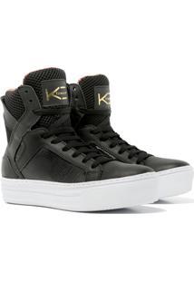 Sneaker K3 Fitness Easy Preto