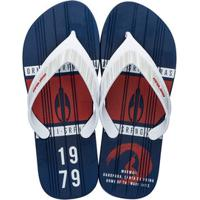 3947762ea20af Chinelos Masculinos Azul Marinho Nylon   Shoes4you