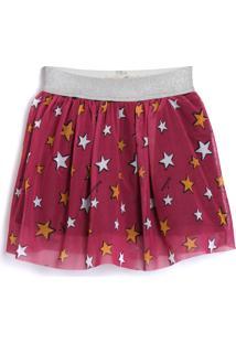 Saia Fruteira 3 Estrelas Rosa