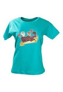 T-Shirt Girl Power Verde