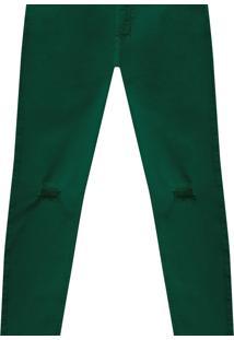 Calça Jeans Skinny Bali Duo Core Verde Kolina - Lez A Lez