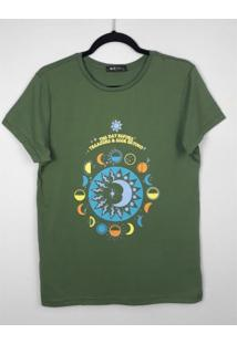 T-Shirt Mã­Stica The Day Before Treasure - Verde Militar - Dafiti