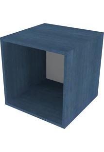 Nicho Quadrado Cubo Iii Azul