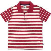 Camisa Polo Infantil Menino Estampada Em Malha Flamê De Algodão Puc       9c9d31c2450c3