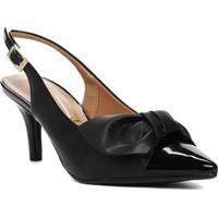df8c733761 Lojas Pompeia. Sapato Chanel Feminino Vizzano Preto