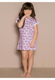 Camisola Infantil Menina Rosa Laibel
