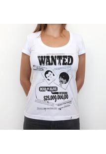 Wanted - Camiseta Clássica Feminina