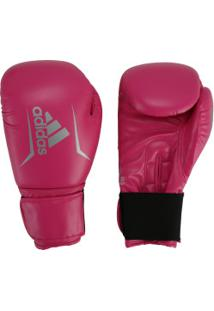 Luvas De Boxe Adidas Speed 50 Plus - 12 Oz - Adulto - Rosa