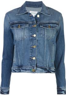 Frame Jaqueta Jeans Slim - Azul