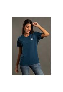 Camiseta Bossa Brasil Neptune Azul