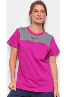 Camiseta Colcci Corpo E Mente Feminina - Feminino-Rosa