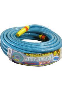 Mangueira Jet Jeans Emborrachada 20 Metros Azul Ibira