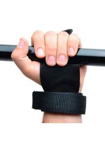 Luva Hand Grip Yangfit Pull Up Couro Para Mãos Musculação