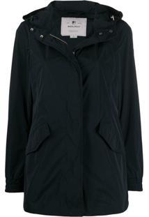 Woolrich Summer Parka Coat - Azul