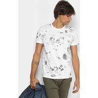 Camiseta Colcci Estampa Tropical Masculina - Masculino 2af3a6221ed