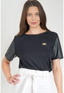 Camiseta Lança Perfume Básica Preto
