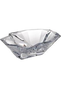 Saladeira Bohemia Com 35Cm Angle Transparente