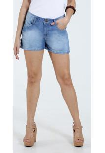 Short Feminino Tachas Jeans Marisa