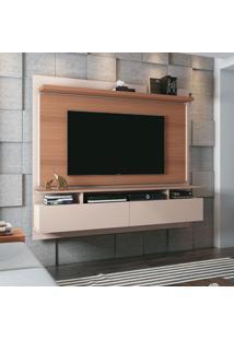 Painel Para Tv Até 55 Polegadas Limit Ii Marrom Deck E Off White
