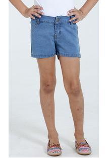 Short Infantil Jeans Marisa