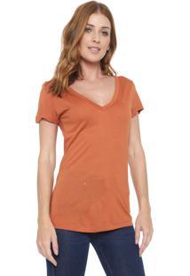 Camiseta Forum Lisa Caramelo