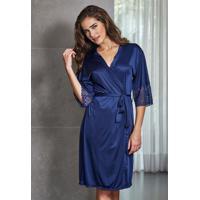 1ab54b278 Le Lingerie. Robe Nupcial Azul Marinho 31005 Demillus