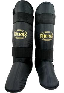Kit Fheras Muay Thai Top - Luva + Bandagem + Bucal- Caneleira - Bolsa - Shorts - Unissex