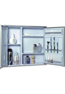 Armário De Sobrepor Liso 2 Portas 1108 - 53X49Cm - Cris Metal