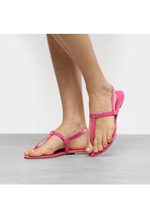 Rasteira Drezzup Matelassê - Feminino-Pink