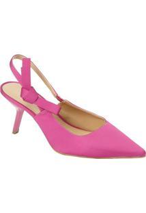 596b48b2f Sapato Chanel Com Laço - Pink - Salto: 9,5Cmle Lis Blanc
