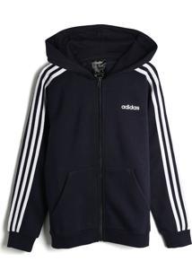Jaqueta Adidas Infantil Listras Azul-Marinho