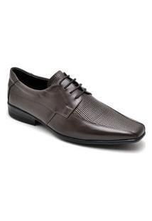 Sapato Social Masculino Elegante Em Couro - Preto 014Rt