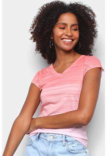 Camiseta Energia Natural Baby Look Básica Feminina - Feminino-Laranja+Areia
