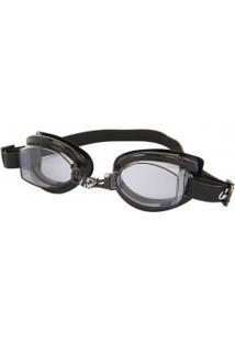 Óculos De Natação Hammerhead Vortex 1.0 - Adulto - Preto/Cinza Esc