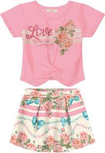 Conjunto Infantil Rosa