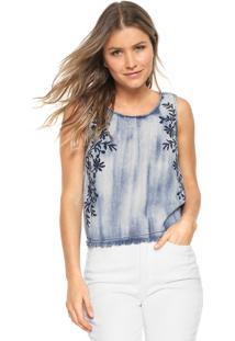 7a25f150bdc59 Regata Jeans Lunender Floral Azul