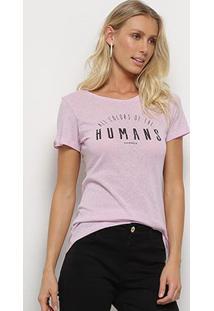 Camisetas-Sommer-Feminino- Estampada Com Aplicação-343101025 - Feminino
