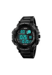 Relógio Digital Skmei -1118- Preto