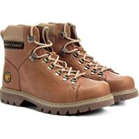 9598398b7 Bota Couro Coturno West Coast Worker Masculina - Masculino