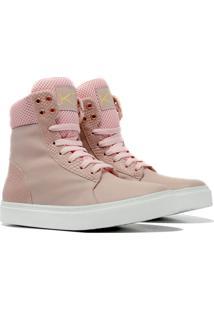Sneaker K3 Fitness Bland Rosa