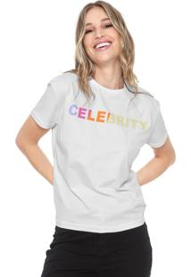 Camiseta Fiveblu Celebrity Branca