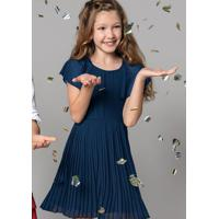 Vestido Hering Plissado Infantil Shoes4you