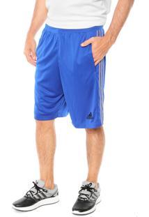 Short Adidas Performance D2M 3S Azul